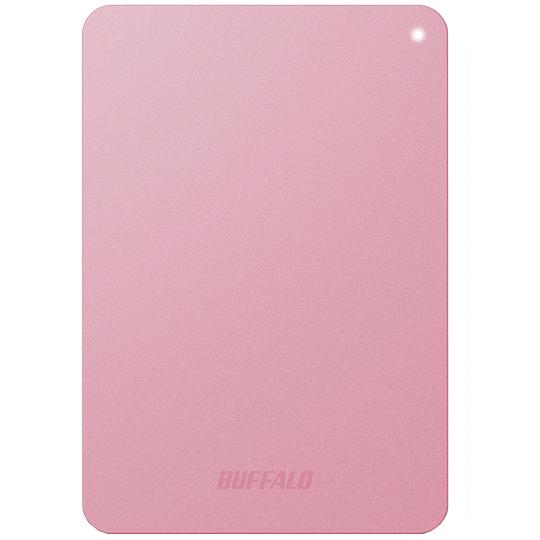 ミニステーション ターボPC EX2 Plus対応 耐衝撃&USB3.0 ポータブルHDD 1TB ピンク HD-PNF1.0U3-BPD(FMDI005136)