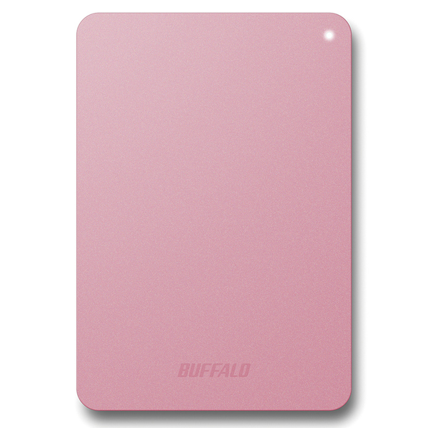 耐衝撃対応 USB3.1(Gen1)/USB3.0用 ポータブルHDD 1TB ピンク HD-PNF1.0U3-BPE(FMDI007024)