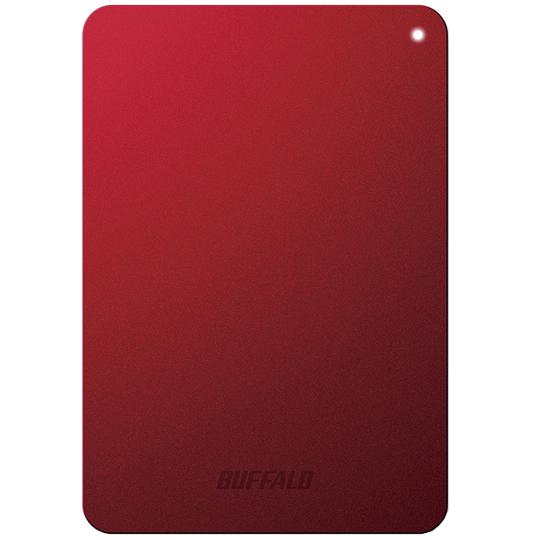 ミニステーション ターボPC EX2 Plus対応 耐衝撃&USB3.0 ポータブルHDD 1TB レッド HD-PNF1.0U3-BRD(FMDI005137)