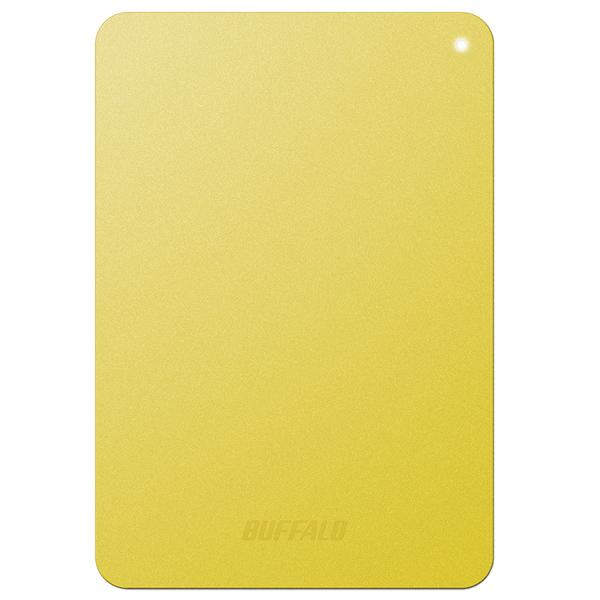 ミニステーション ターボPC EX2 Plus対応 耐衝撃&USB3.0 ポータブルHDD 1TB イエロー HD-PNF1.0U3-BYD(FMDI005139)