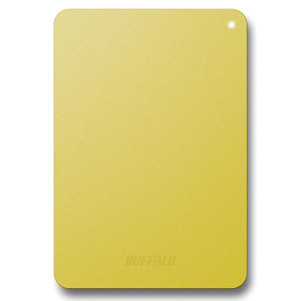 耐衝撃対応 USB3.1(Gen1)/USB3.0用 ポータブルHDD 1TB イエロー HD-PNF1.0U3-BYE(FMDI007027)