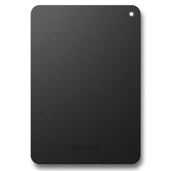 耐衝撃対応 USB3.1(Gen1)/USB3.0用 ポータブルHDD 2TB ブラック HD-PNF2.0U3-GBE(FMDI007028)
