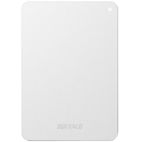 ミニステーション ターボPC EX2 Plus対応 耐衝撃&USB3.0 ポータブルHDD 2TB ホワイト HD-PNF2.0U3-GWD(FMDI005871)