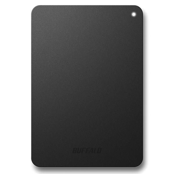 耐衝撃対応 USB3.1(Gen1)/USB3.0用 ポータブルHDD 500GB ブラック HD-PNF500U3-BE(FMDI007032)
