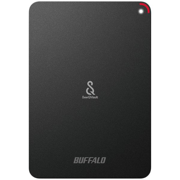 ミニステーション SeeQVault対応 耐衝撃&USB3.0対応 ポータブルHDD 500GB(FMDI006238)