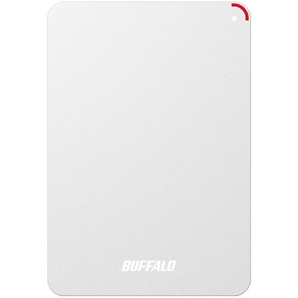 ミニステーション ターボPC EX2 Plus対応 耐衝撃&USB3.0ポータブルHDD 4TB ホワイト HD-PSF4.0U3-GW(FMDI005874)