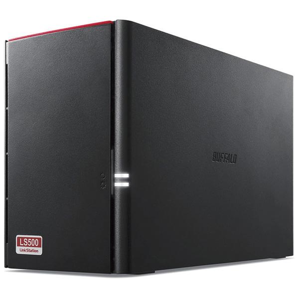 リンクステーション RAID機能搭載 ネットワークHDD 高速モデル 8TB LS520D0802G(FMDI012304)
