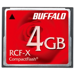 コンパクトフラッシュ ハイコストパフォーマンスモデル 4GB RCF-X4G(FMDI002406)