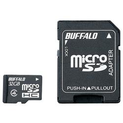 防水仕様 Class4対応 microSDHCカード SD変換アダプター付モデル 32GB RMSD-BS32GAB(FMDI013278)