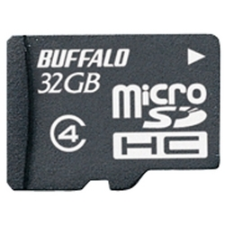 防水仕様 Class4対応 microSDHCカード 32GB RMSD-BS32GB(FMDI013279)