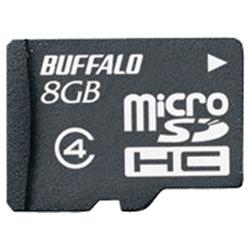 防水仕様 Class4対応 microSDHCカード 8GB RMSD-BS8GB(FMDI002410)