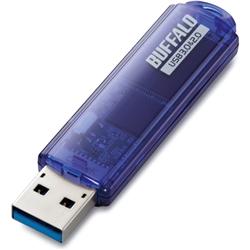 USB3.0対応 USBメモリー スタンダードモデル 16GB ブルー・RUF3-C16GA-BL(FMDI003925)