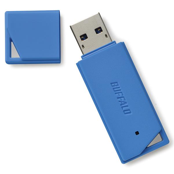 USB3.1(Gen1)/USB3.0対応 USBメモリー バリューモデル 16GB ブルー RUF3-K16GB-BL(FMDI012577)
