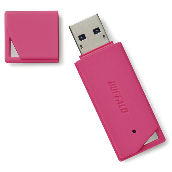 USB3.1(Gen1)/USB3.0対応 USBメモリー バリューモデル 64GB ピンク RUF3-K64GB-PK(FMDI012586)