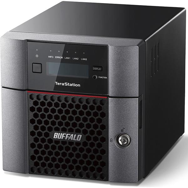 TeraStation TS5210DFシリーズ 10GbE標準搭載 2ドライブSSD搭載NAS 512GB TS5210DF00502(FMDI007812)