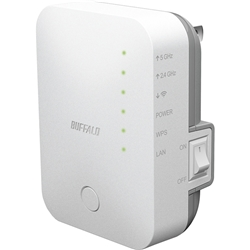 無線LAN中継機 エアステーション 11ac/n/a/g/b 433+300Mbps WEX-733D(FMDI010018)