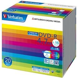 DVD-R 4.7GB CPRM PCデータ用 16倍速対応 20枚スリムケース入り ワイド印刷可能 DHR47JDP20V1(FMDI004878)