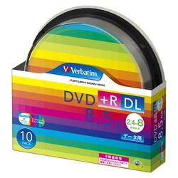 DVD+R DL 8.5GB PCデータ用 8倍速対応 10枚スピンドルケース入り ワイド印刷可能 DTR85HP10SV1(FMDI004893)
