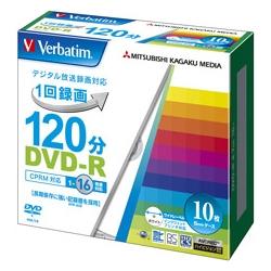 DVD-R(CPRM) 録画用 120分 1-16倍速 5mmケース10枚パック ワイド印刷対応(FMDI001138)