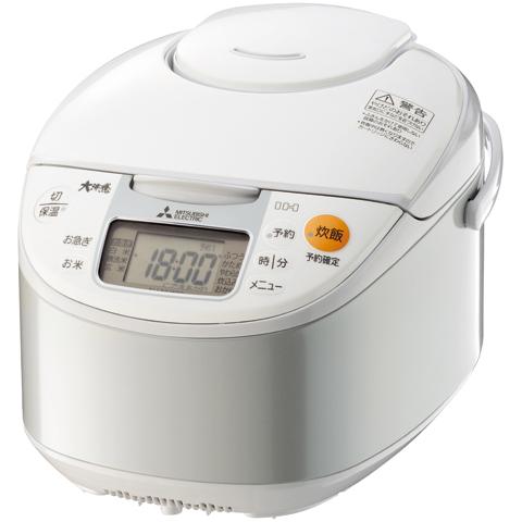 IHジャー炊飯器 大沸騰IH 遠赤厚釜 1.8mm 5.5合炊き (ホワイト) NJ-NH106-W(FMDI006395)