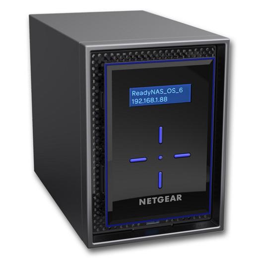ReadyNAS 422 [5年保証] 2ベイデスクトップ 8TBモデル RN422E4-100AJS(FMDI007814)