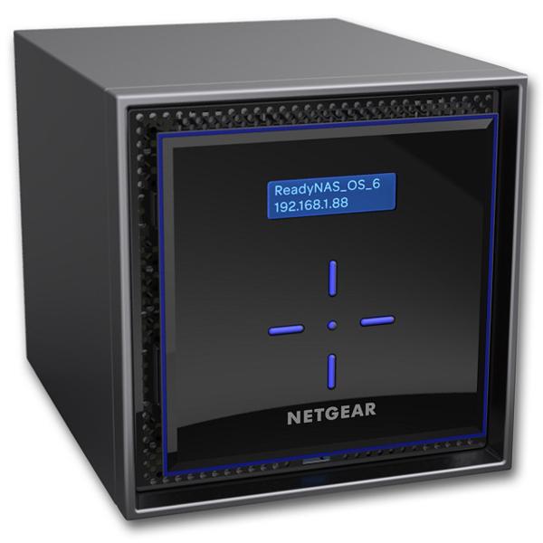 ReadyNAS 424 [5年保証] 4ベイデスクトップ 16TBモデル RN424E4-100AJS(FMDI007815)