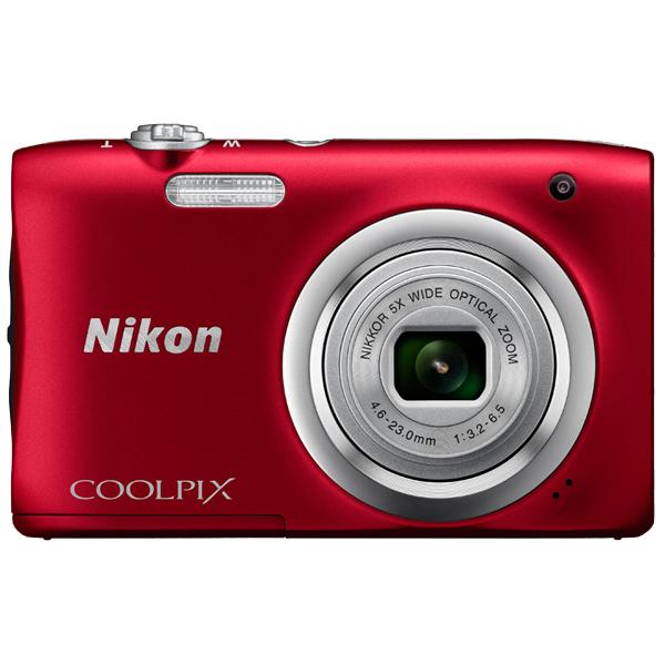 デジタルカメラ COOLPIX A100 レッド COOLPIXA100RD(FMDI006894)