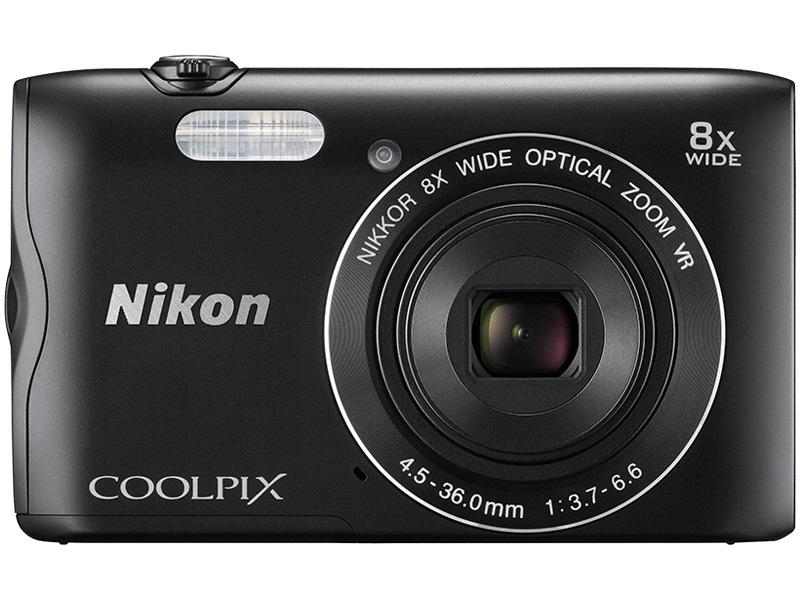 デジタルカメラ COOLPIX A300 ブラック COOLPIXA300BK(FMDI006896)