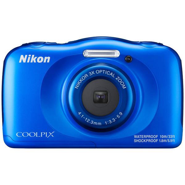 デジタルカメラ COOLPIX W100 ブルー COOLPIXW100BL(FMDI006901)