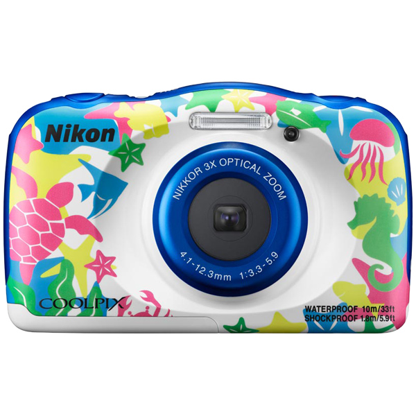 デジタルカメラ COOLPIX W100 マリン COOLPIXW100MR(FMDI006902)