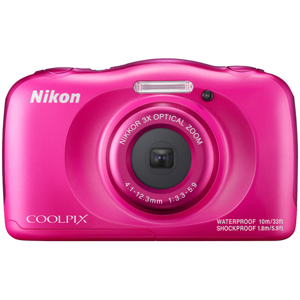 デジタルカメラ COOLPIX W100 ピンク COOLPIXW100PK(FMDI006903)