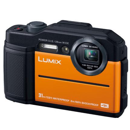 デジタルカメラ LUMIX FT7 (オレンジ) DC-FT7-D(FMDI012082)