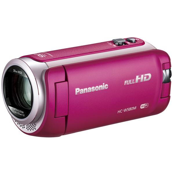 デジタルハイビジョンビデオカメラ (ピンク) HC-W580M-P(FMDI006833)