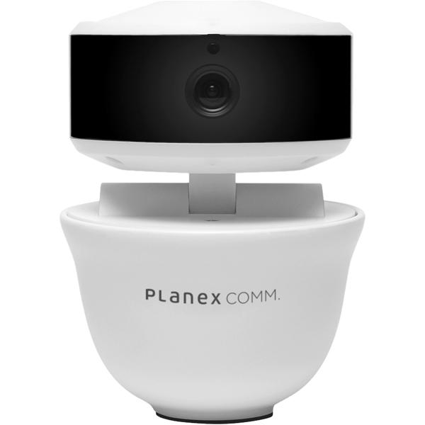 スピーカー&マイク内蔵 ネットワークカメラ 「スマカメ パンチルト F」 CS-QR30F(FMDI008906)