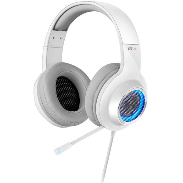 Edifier ゲーミングヘッドセット G4 (ホワイト) ED-G4WH(FMDI009317)