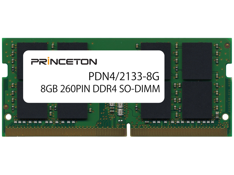 8GB PC4-17000(DDR4-2133)SO-DIMM PDN4/2133-8G(FMDI007632)