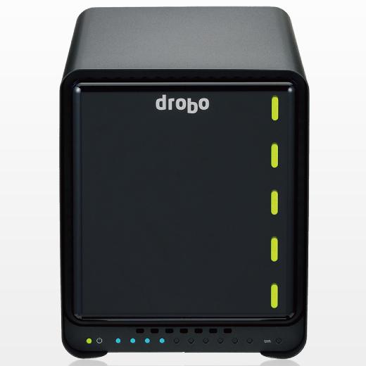 Drobo 5N2 + 10TB(2TB×5) PDR-5N210T/C(FMDI007816)