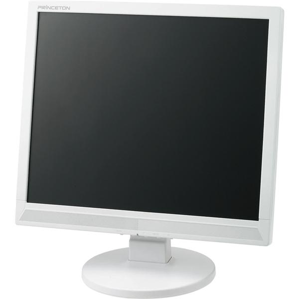 17型 白色LEDバックライト搭載 液晶ディスプレイ (ホワイト) PTFWCF-17(FMDI005303)