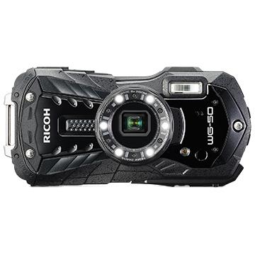 防水デジタルカメラ WG-50 (ブラック) WG-50BK(FMDI012100)