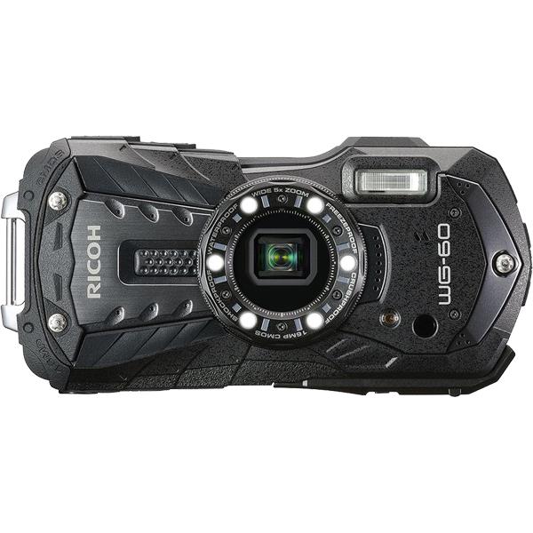 防水デジタルカメラ WG-60 (ブラック) WG-60BK(FMDI012102)