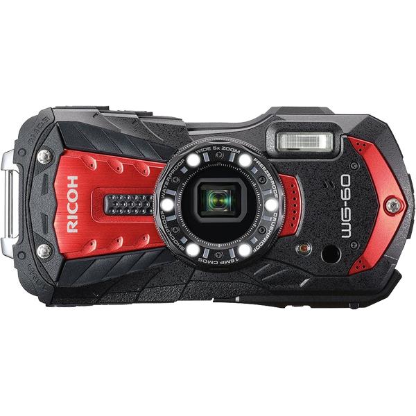 防水デジタルカメラ WG-60 (レッド) WG-60RD(FMDI012103)