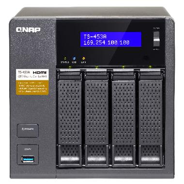 TS-453A 32TB HDD搭載モデル (ミドルクラス 8TB x 4) T453A4MD80(FMDI007881)