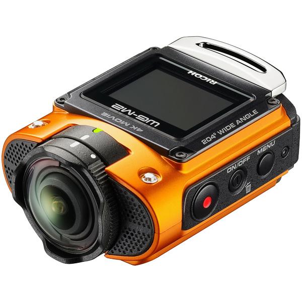 防水アクションカメラ WG-M2 (オレンジ)(FMDI006199)