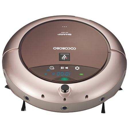 人工知能・センサー・プラズマクラスター搭載コンパクトロボット掃除機 ゴールド系 RX-V95A-N(FMDI006471)