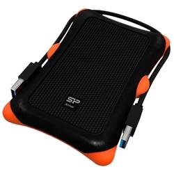 【耐衝撃】USB3.0/2.0対応 Armor A30 ポータブルHDD 1TB ブラック SP010TBPHDA30S3K(FMDI005152)