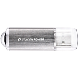 USBフラッシュメモリ ULTIMA-II I-Series 32GB シルバー 永久保証 SP032GBUF2M01V1S(FMDI012762)
