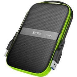 【耐衝撃 生活防水】USB3.0/2.0対応 Armor A60 ポータブルHDD 500GB SP500GBPHDA60S3K(FMDI005166)