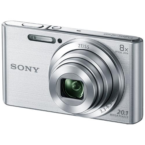 デジタルスチルカメラ Cyber-shot W830 (2050万画素CCD/光学x8) シルバー DSC-W830(FMDI008911)