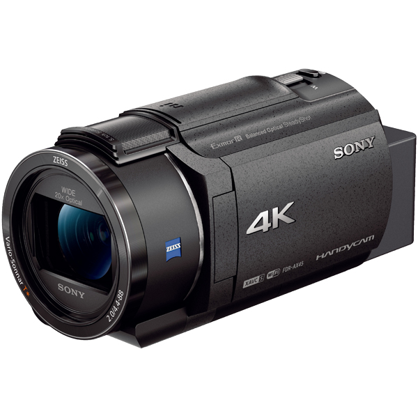 デジタル4Kビデオカメラレコーダー Handycam AX45 ブラック FDR-AX45/B(FMDI012108)