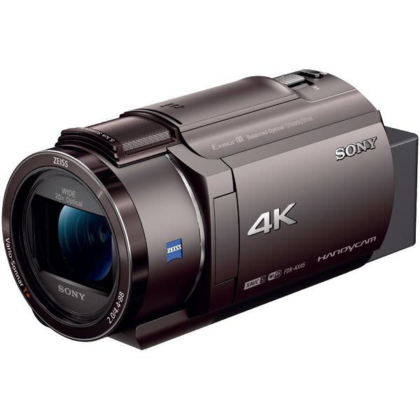 デジタル4Kビデオカメラレコーダー Handycam AX45 ブロンズブラウン FDR-AX45/TI(FMDI012109)